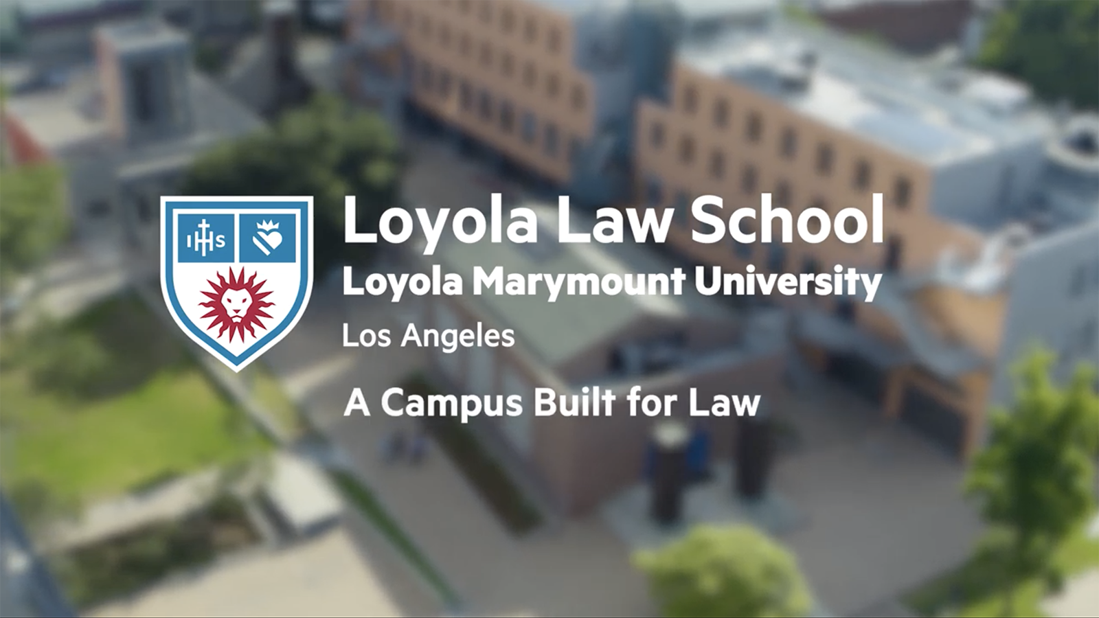 A Campus Built for Law Video Thumbnail