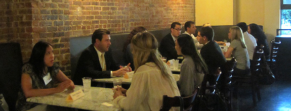 Speed Networking, Sept. 24, 2012