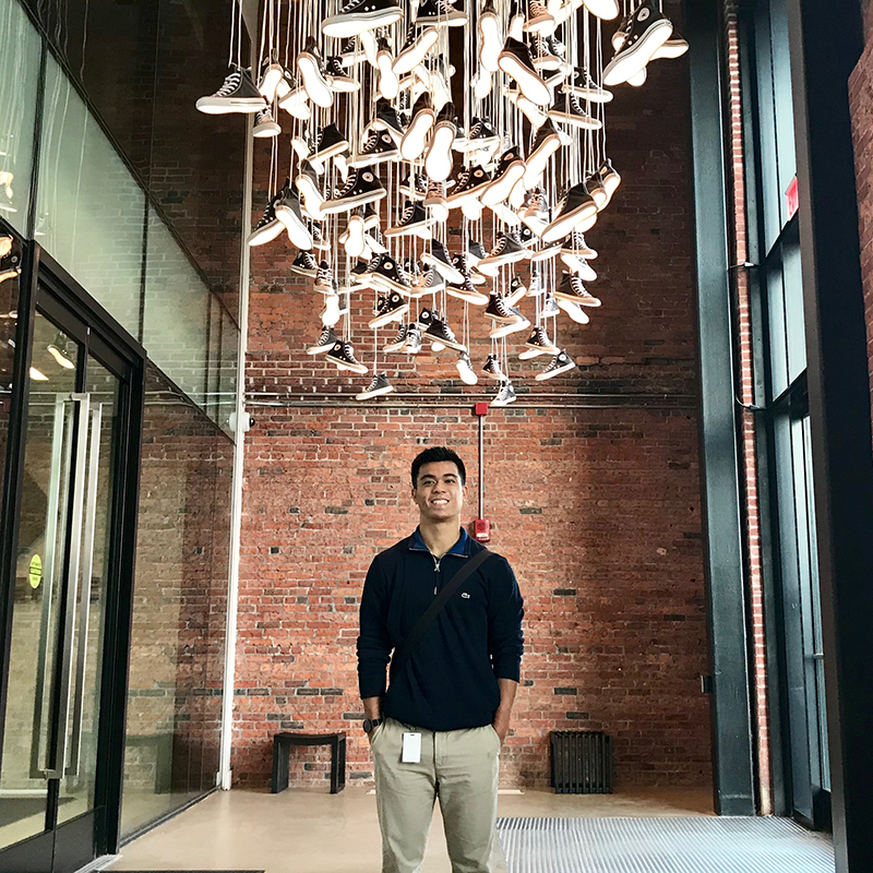 Kevin Togami at Converse HQ