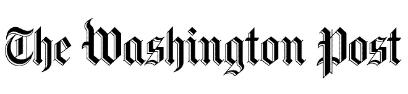 Newspaper logo, Washington Post,